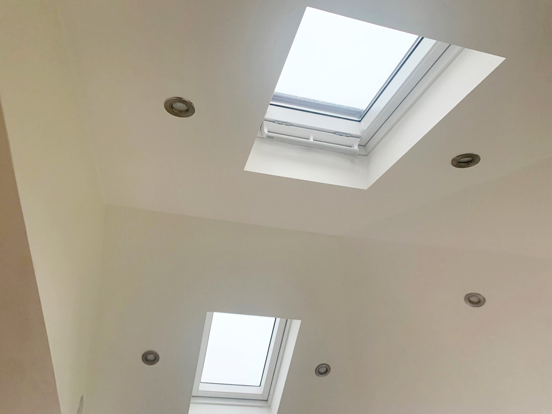Solid Tiled Conservatory Roof skylights