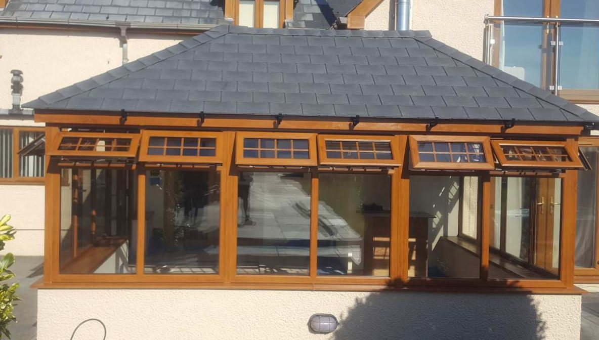 Solid Conservatory Roof Prices Carmarthen