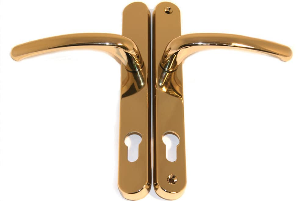 Brass Lever Handle