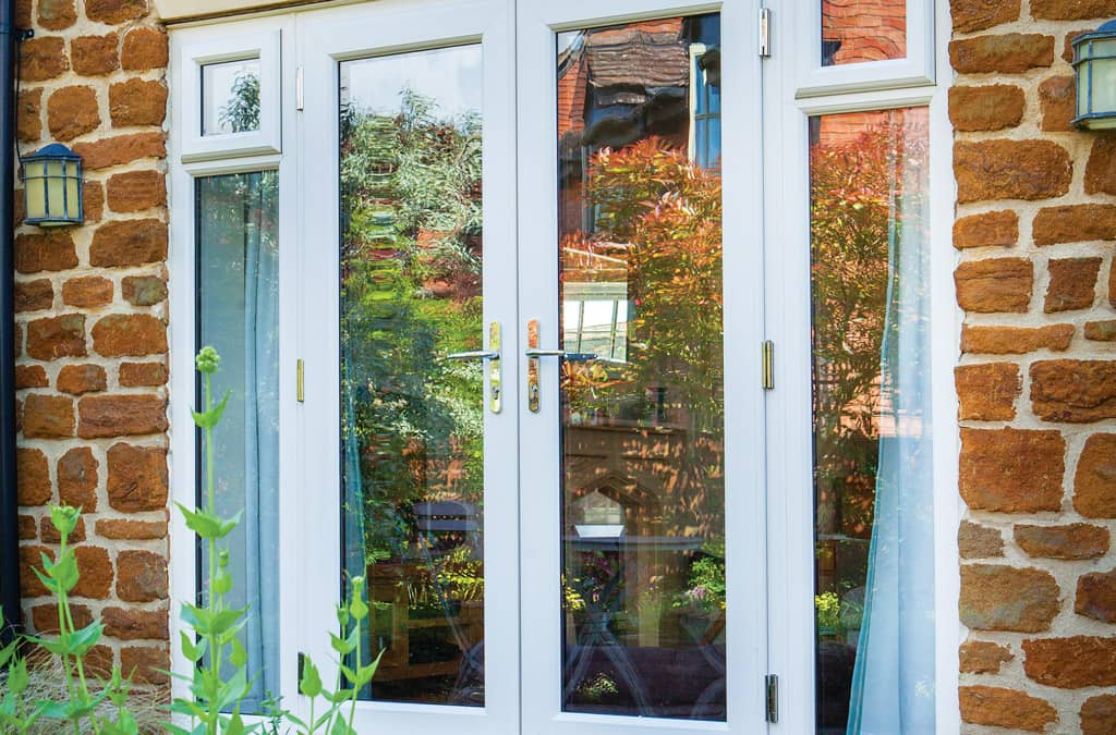 Upvc doors doors products nolan for Wood effect upvc french doors
